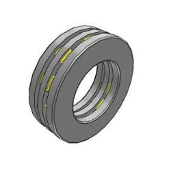 Axial Zylinderrollenlager 81206-TN 30x52x16 mm